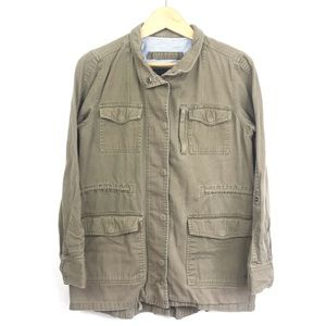 Hurley Button Up Light Brown Shirt Size M Vintage